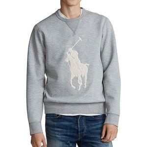Ralph Lauren LS Embroidered Big Pony Sweatshirt